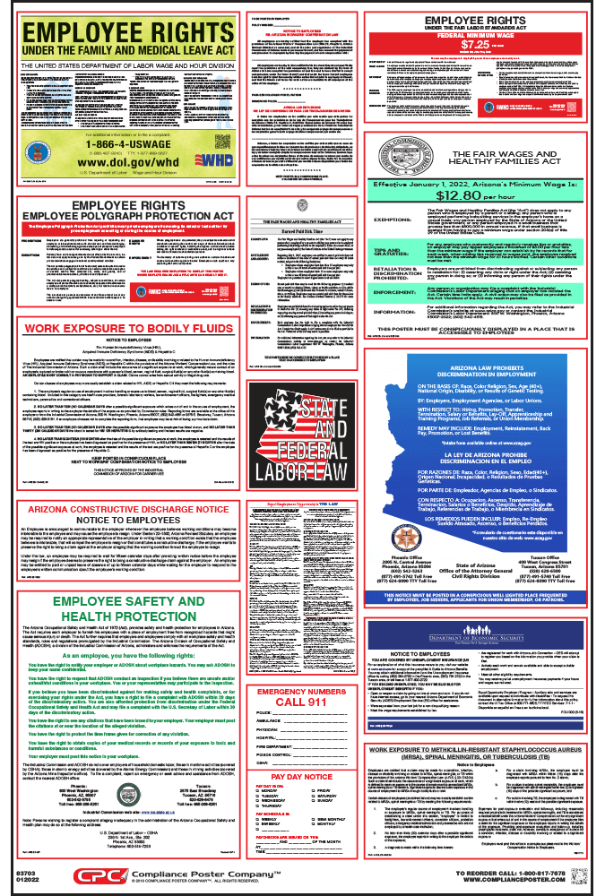 Arizona Labor Law Posters