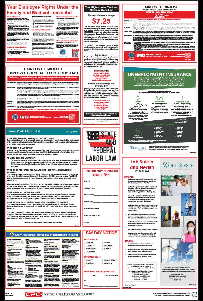 Iowa Labor Law Posters