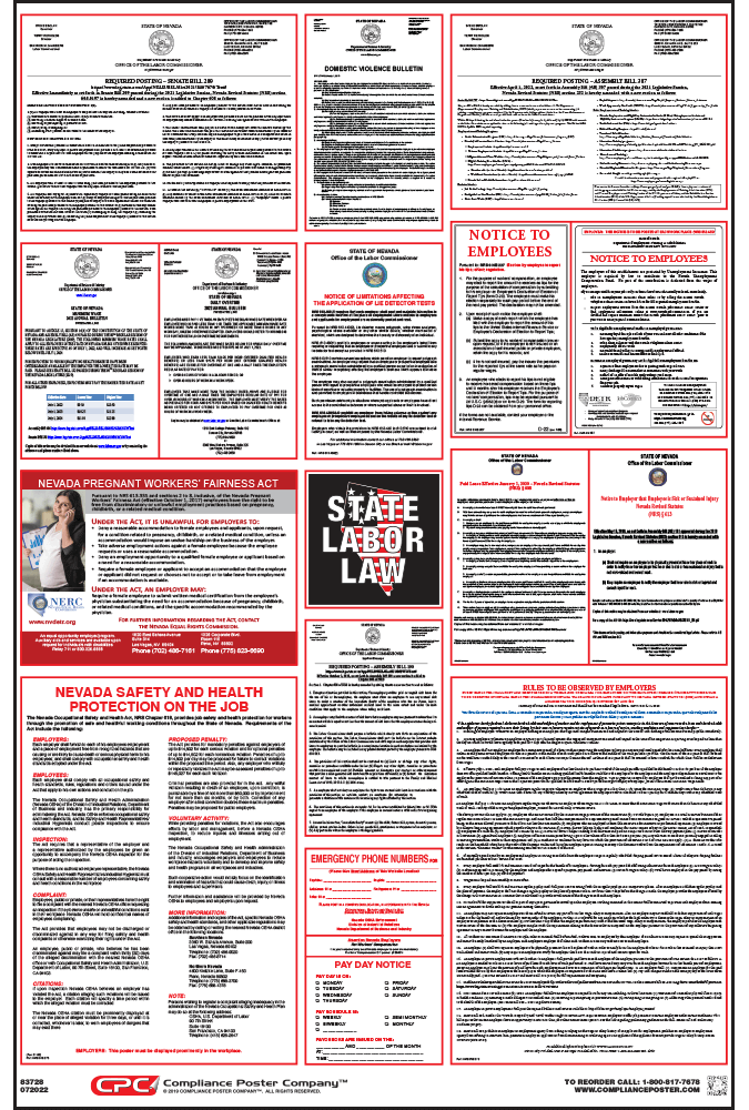 Nevada Labor Law Posters