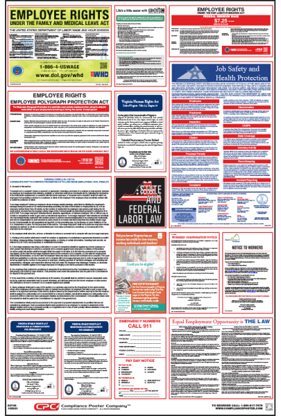 Virginia Labor Law Posters