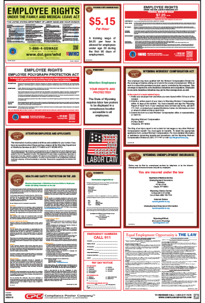 Wyoming Labor Law Posters