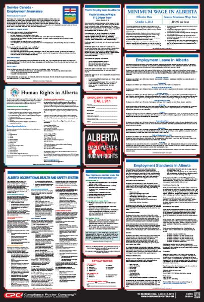 Alberta Labor Law Posters
