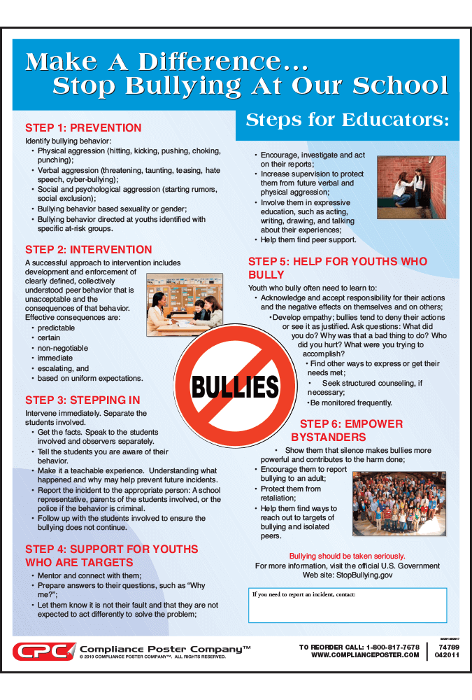 Bullying for Educators