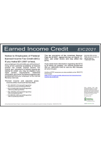 2018 Louisiana Earned Income Credit Peel 'N Post