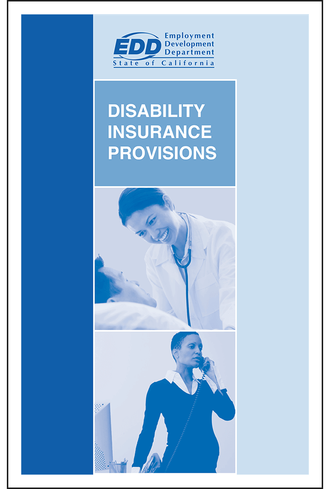 California State Disability Pamphlet