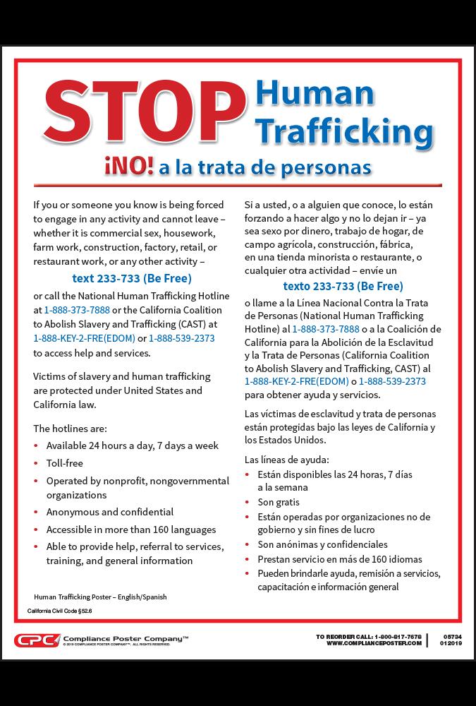 California Human Trafficking