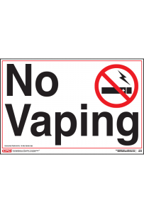 Connecticut No Vaping Poster