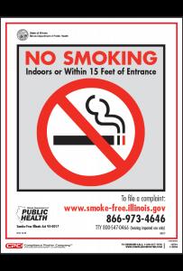 Illinois No Smoking Posters