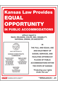 Kansas Equal Opportunity in Public Accommodations Poster