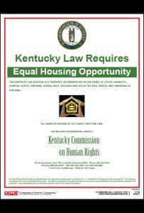 Kentucky Fair Housing Poster