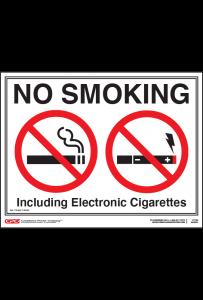 Nebraska No Smoking Poster