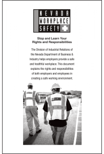 Nevada Workplace Safety Booklet