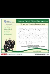 Nevada Prohibits Discrimination Poster