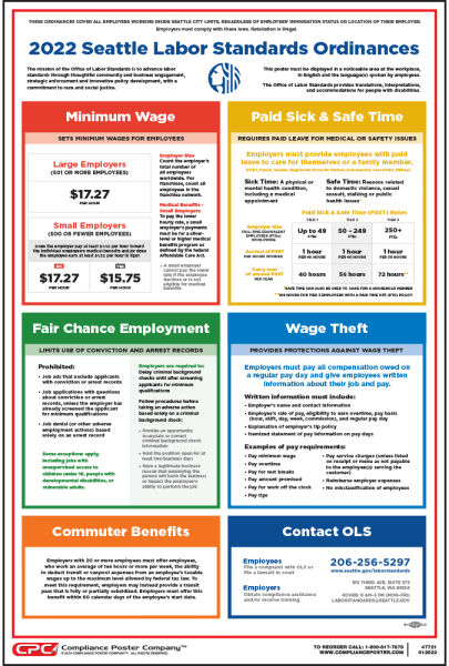 Seattle Workplace Poster