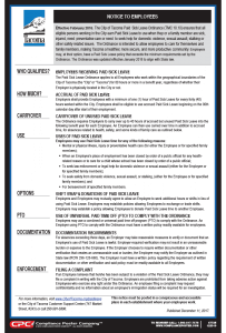 Tacoma Minimum Wage & Paid Sick Leave Poster