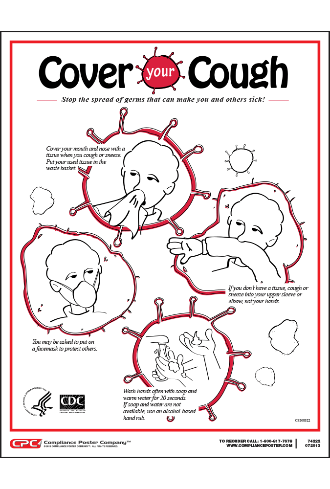 Federal Stop the Spread of Germs Poster