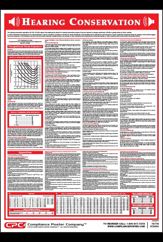 OSHA Permissible Exposure Limit Archives - Compliance Poster