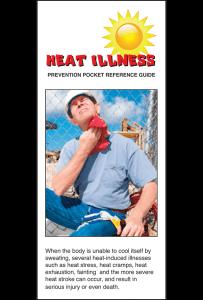 Heat Illness Pocket Reference Guide