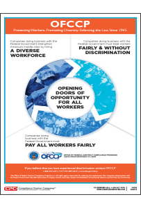OFCCP Fair Pay Poster
