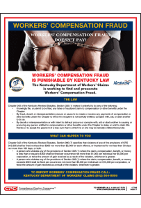 Kentucky Workers' Compensation Fraud