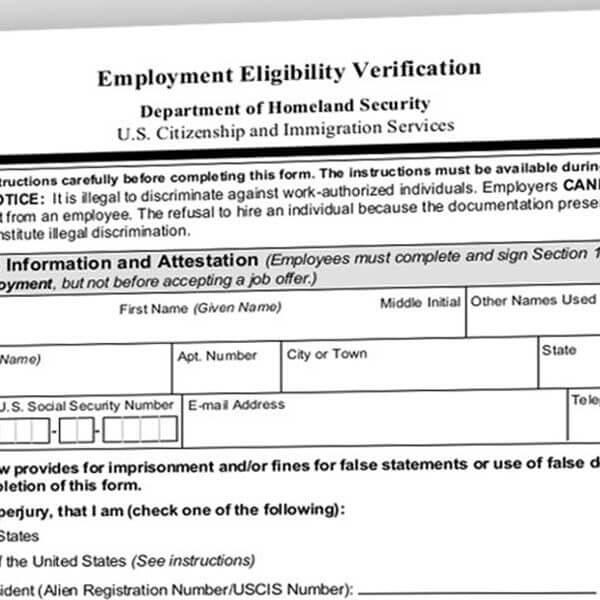 New Form I-9 Available – Compliance Deadline September 18