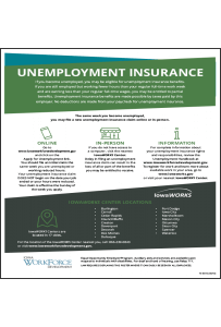 2018 Iowa Unemployment Insurance Peel 'N Post English
