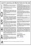 Indiana Releases Updated IOSHA Workplace Posting