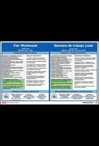Philadelphia Fair Workweek Poster